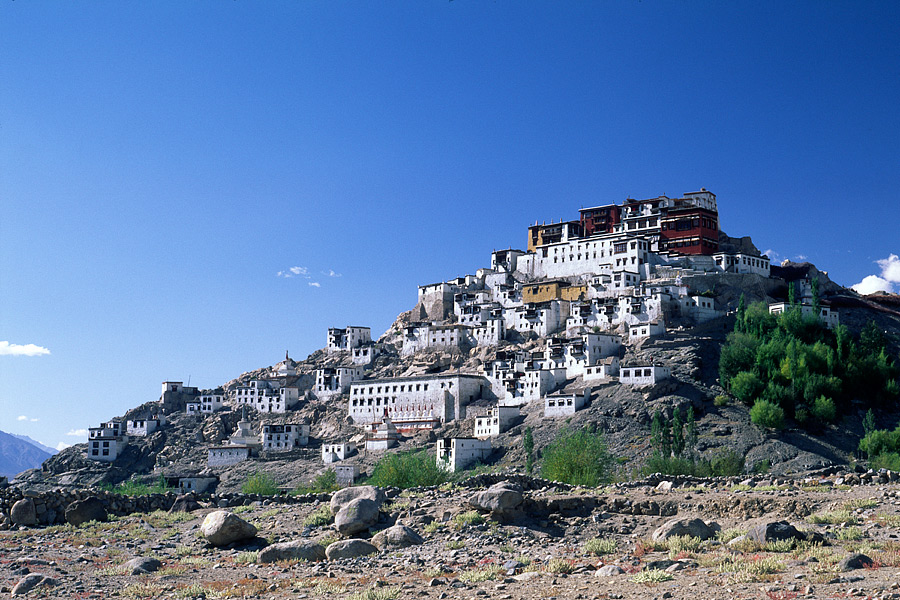 Tikse (Thikse) gompa, India
