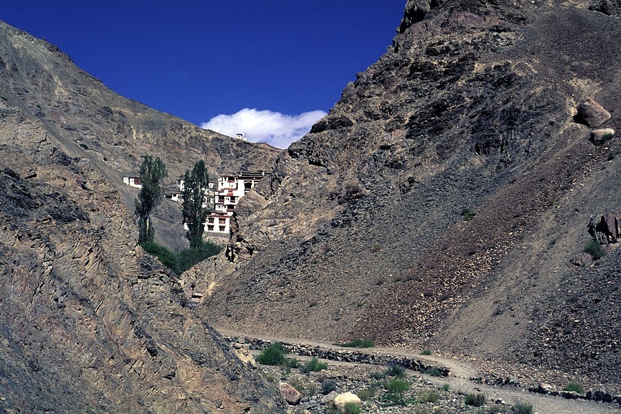 India, Rizong Gompa
