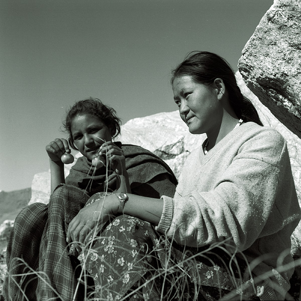 Nako girls, india