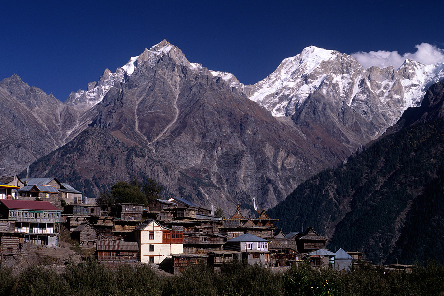 at Kalpa village, India
