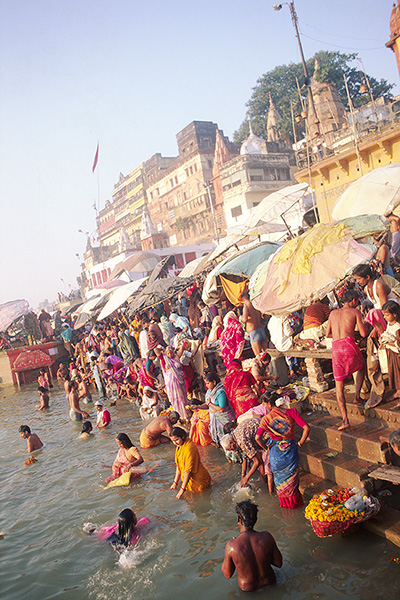 at Varanasi (Benares), India on 18/Nov/1999